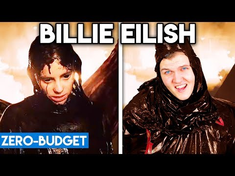BILLIE EILISH WITH ZERO BUDGET! (All The Good Girls Go To Hell PARODY)