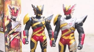 Review Mainan Bima-X DX Figure Flame Mode dan DX Figure Dark Mode oleh Kupaman