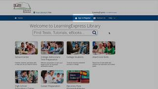 Registering as a New LearningExpress User – Tutorial