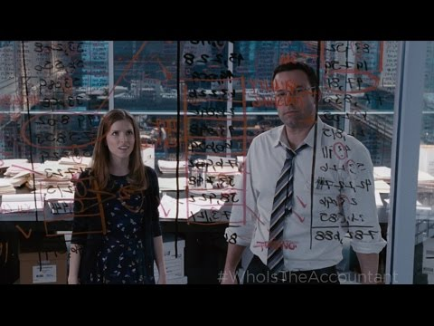 New TV Spot for The Accountant