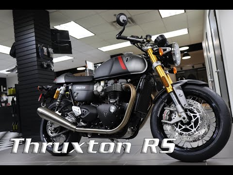 2020 Triumph Thruxton RS in Enfield, Connecticut - Video 1