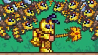 Terraria but I can Summon INFINITE Minions!
