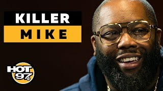 Ebro In The Morning - Killer Mike On Super Bowl Protests, Bernie Sanders + Things He Learned From 'Trigger Warning'