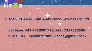 Get Quick and Safe Air Ambulance Service in Siliguri with MD Doctor