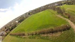 Pre lockdown flight. Fpv freestyle ... range test with (tramp hv + eacheine ev100)