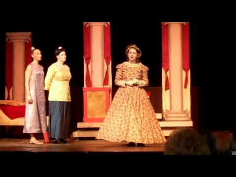 "Performing the role of Anna in ""The King and I"" at Northern Lights Playhouse in northern Wisconsin"