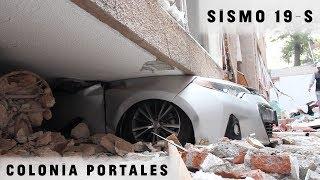 SISMO 19S EN #TOKIO 517: RESCATE DE PERTENENCIAS EN LA COLONIA #PORTALES, #CDMX