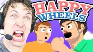DAD MAD!! - Happy Wheels