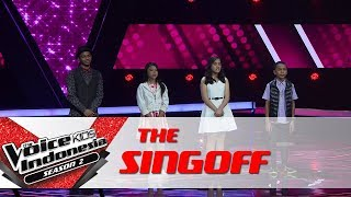 Coach Agnez Mo Memilih... | Sing Off | The Voice Kids Indonesia Season 2 GTV 2017