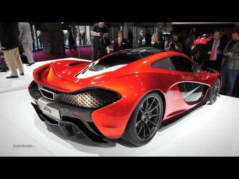New McLaren P1 World Premiere, First Look - 2012 Paris Motor Show