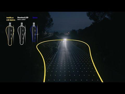 Kategóriaelső IntelliLux LED Mátrix fényszórók.