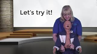 First Aid for a Child Choking