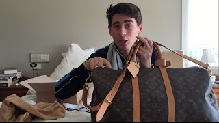 Louis Vuitton Monogram Keepall 50 Bandouliere - REVIEW