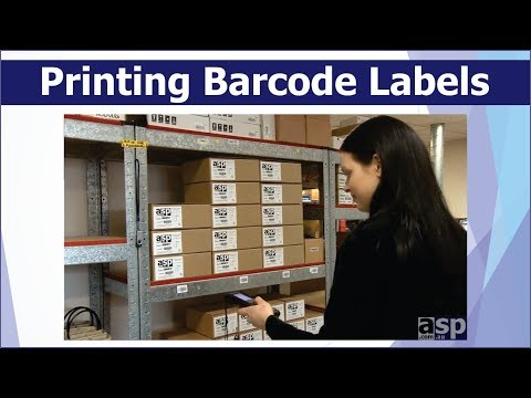 Printing Barcode Labels