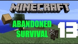 """Minecraft: """"MOBS GIVE US STRING; WE CAN SLEEP"""" - Abandoned Survival Island 