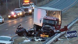 Подборка Аварии и ДТП с Америки (США) №003 Car Crashes and accidents 2016