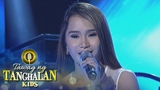 Tawag ng Tanghalan Kids: Rachel Gabreza sings Yeng Constantino's Salamat