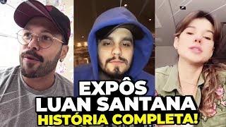 MARCOS Expõe LUAN SANTANA Após FURO Com PAULA FERNANDES!