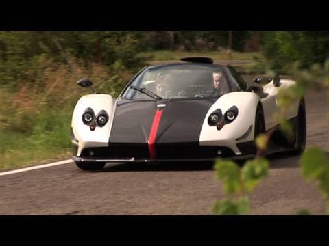 Pagani Cinque Roadster Driven