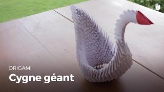 скачать Origami Schwan Falten Basteln Mit Papier Diy