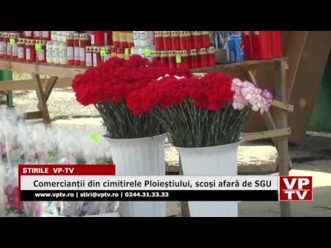 Comercianții din cimitirele Ploieștiului, scoși afară de SGU