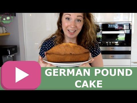 How To Make GERMAN POUND CAKE | German Sandkuchen recipe