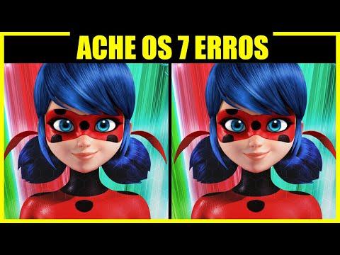 QUIZ (7 Erros) // Miraculous - Ladybug