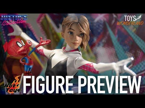 Hot Toys Gwen Stacy & Spider-Ham Spider-Man Into the Spider-Verse  - Figure Preview Episode 53