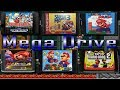 Todos Los Super Mario Bros De Sega Mega Drive genesis j