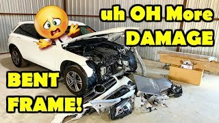 Rebuilding My Wife's New 2019 Mercedes Benz GLC 300 Part 2