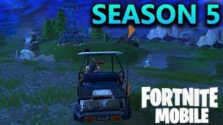 FORTNITE MOBILE - SEASON 5 GAMEPLAY