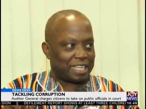 Tackling Corruption - News Desk on JoyNews (21-9-18)