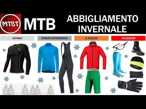 MTB abbigliamento invernale consigli per non soffrire il freddo - Link a prodotti Amazon MTBT
