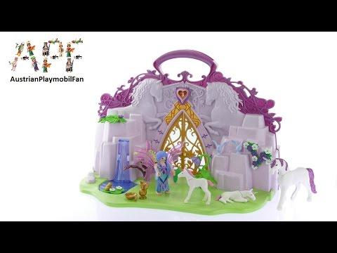 Vidéo PLAYMOBIL Fairies 6179 : Ilot enchanté transportable