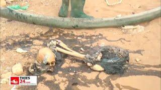 Disparu depuis le 23 avril, les restes du chauffeur de taxi retrouvés dans un caniveau à Thiès