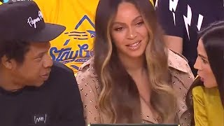 Beyonce's Reaction To A Woman Talking To Jay-z Is A Must Ee