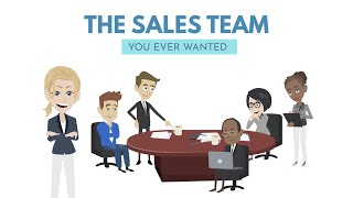 I am your senior sales representative – Funds Industry