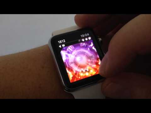 Apple Watch Game - triXium project - 3D Tunnel arcade game - Game Running on the Apple Watch