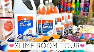 My Slime Room Tour // Talisa Tossell's Slime Room Tour 2017!