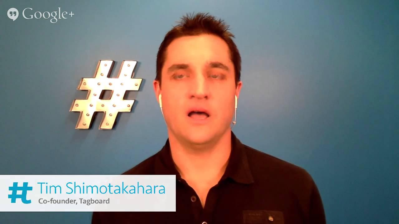 TagBoard: Co-Founder Tim Shimotakahara * WTTV 1.12
