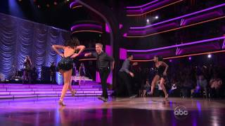 Selena Gomez & The Scene - Hit The Lights - Dancing With The Stars April 17, 2012
