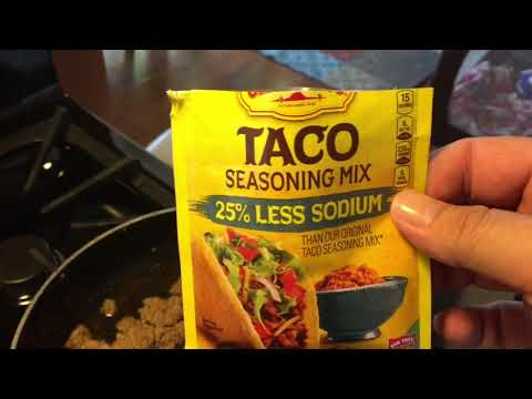 VSG Cooking | Puree Taco Meat Recipe | May 16, 2018