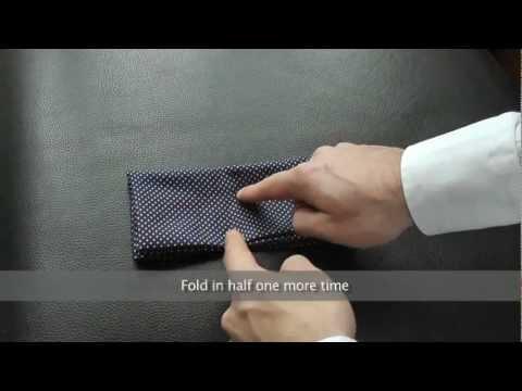 6 τρόποι για να διπλώσετε το μαντήλι