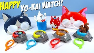 Happy Meal Yo-Kai Watch McDonalds Toys Collection Review