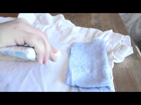 Die Pigmentflecke die Abtragung von den Händen