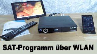 Sat-Programme über WLAN - HIZ290