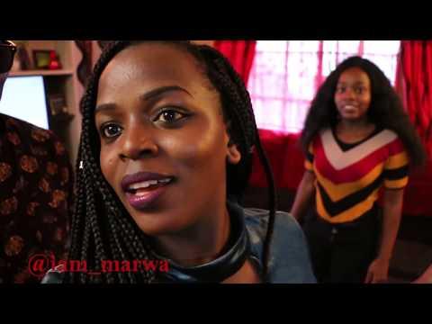 Kenyan girls 😋😋😋 SHOWS me Dancing Skills ft. Sharon Waniz || iam_marwa