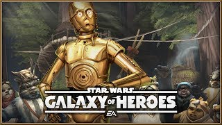 STAR WARS : Galaxy Of Heroes - NEW C-3PO Announcement Mobile Action iOS/Android (2018)