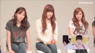 "[ENG SUB] 1080p HD 120929 SNSD's Reactions to ""Kissing You"" MV"