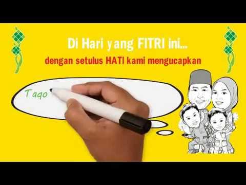 Video Ucapan Idul Fitri Unik || Order 08988344812